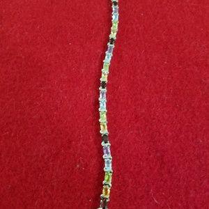 Jewelry - Multi stones set in sterling silver